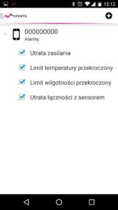 Konfiguracja powiadomień SMS