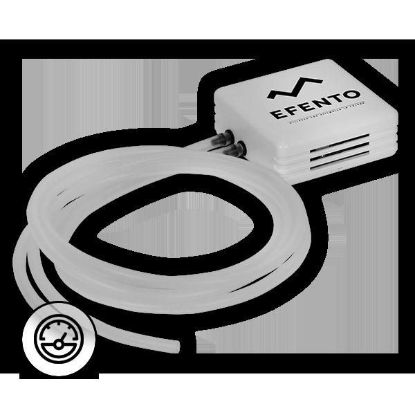 Rejestrator ciśnienia różnicowego Efento