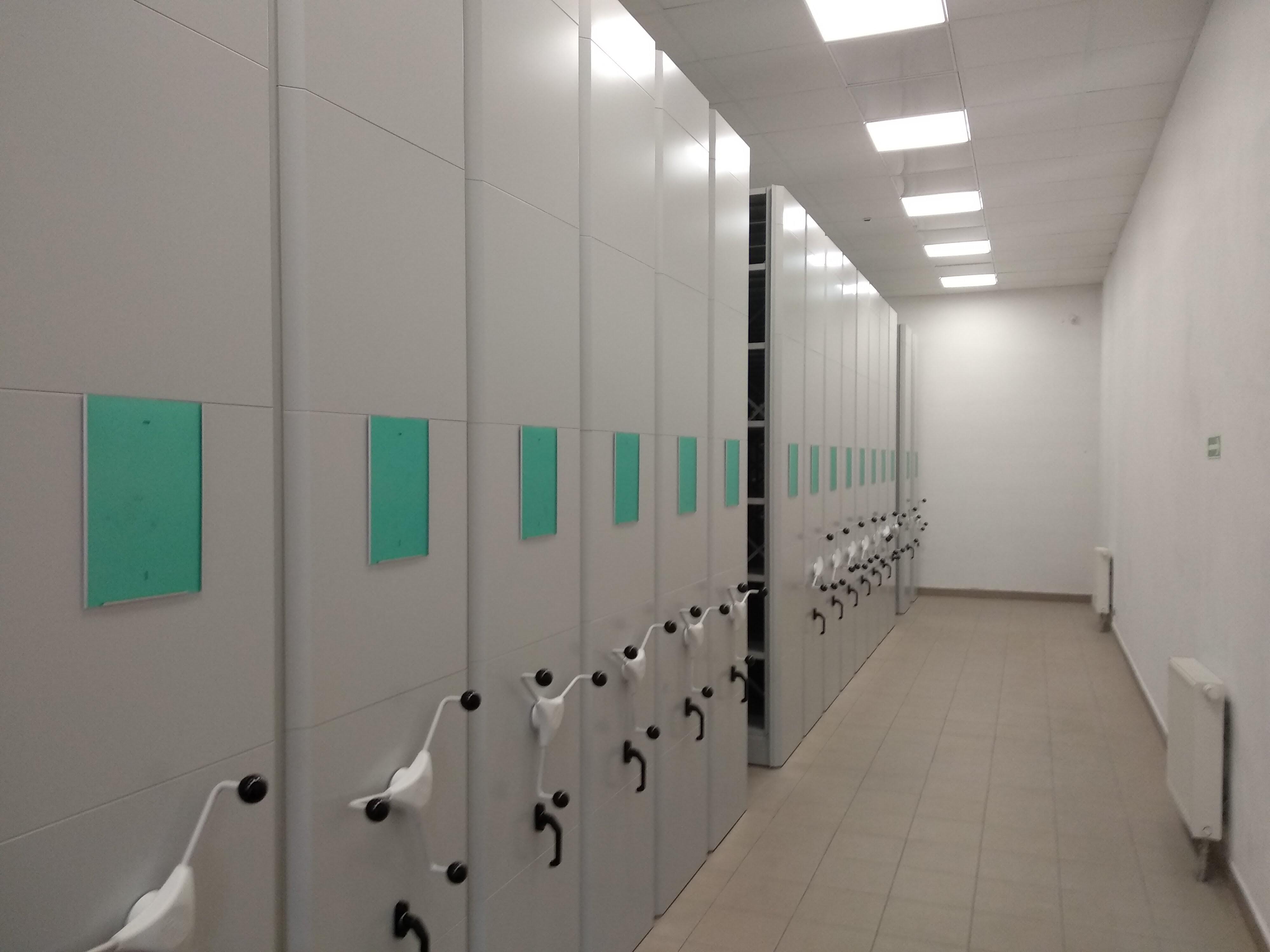 Rejestracja temperatury i wilgotności w archiwum
