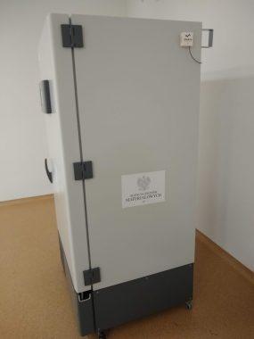 Szczepionki firmy Pfizer przechowywane są w specjalnych zamrażarkach w temperaturze z zakresu -90 do -60 stopni Celsjusza